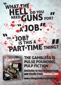 Gamblers postcard 2 front