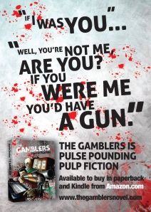 Gamblers postcard front